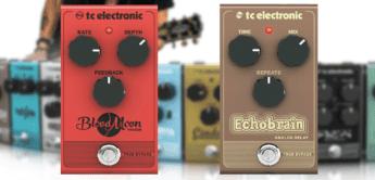 Double Feature: TC Electronic Echobrain Analog Delay und Blood Moon Phaser, Effektgeräte