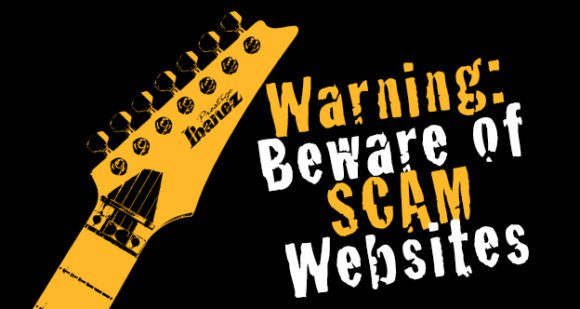Ibanez Scam Website 1