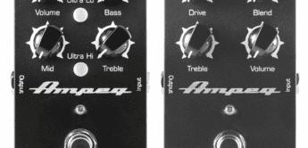 NAMM NEWS 2017: Neue Ampeg Pedale für Bass