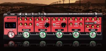 Test: Mooer Red Truck, Gitarren Multieffekt Pedal