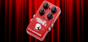 Test: TC Electronic Hall of Fame 2,  Gitarrenpedal