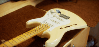 TOP NEWS: Fender Eric Johnson Signature Stratocaster Thinline