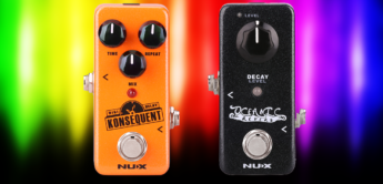 Double Feature: NUX Konsequent Delay und NUX Oceanic Reverb Gitarrenpedals