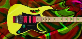 Test: Ibanez JEM777-DY, E-Gitarre