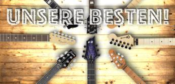 Die besten E-Gitarren 2017 im Überblick