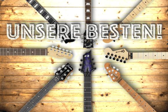 Die besten E-Gitarren 2017 Aufmacher