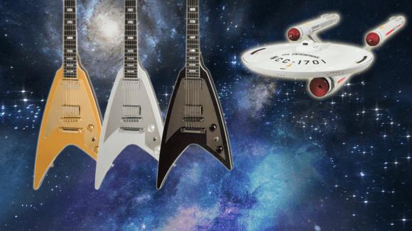 Gibson Modern Flying V title