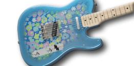 Fender Classic 69 Tele Blue Flower