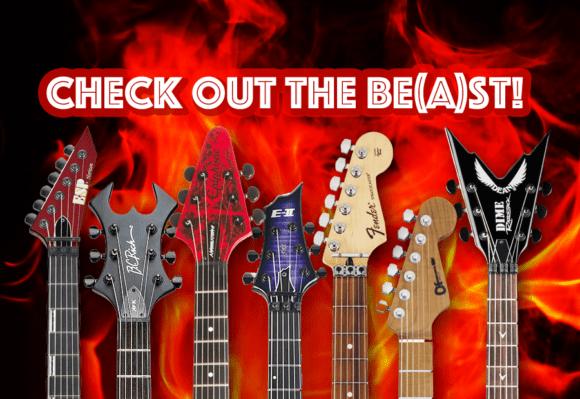 Die besten Metal Gitarren Aufmacher