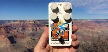Test: Electro Harmonix Canyon, Gitarren Delaypedal