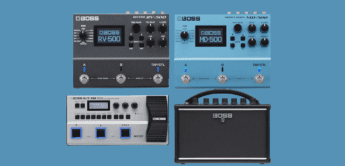 TOP NEWS: BOSS MD-500, RV-500, Katana-Mini und GT-1B