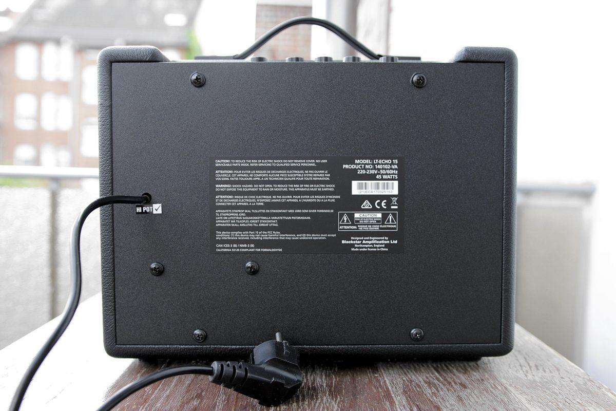 Blackstar LT-Echo 15 Back
