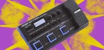 Top News: BOSS GT-1, Multieffektgerät für Gitarre