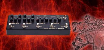 Test: NUX Cerberus, Gitarren Multieffektgerät