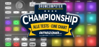 Championship: Die besten Drumcomputer