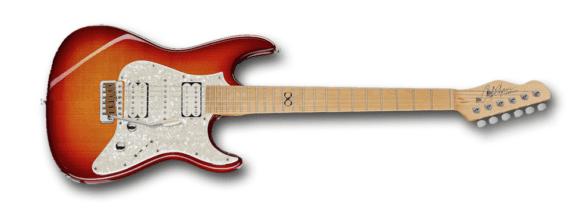 Die besten E-Gitarren 2017 Chapman Guitars ML-1 CAP10 America