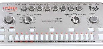 Top News: Cyclone Analogic TT-78 Beat Bot, CR-78 Clone