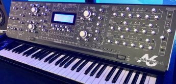 Superbooth 17: Alesis Andromeda Mod by Doc Analog