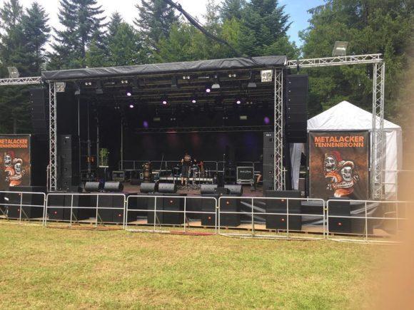 aus der Sicht des FOH - der typische Festivalaufbau