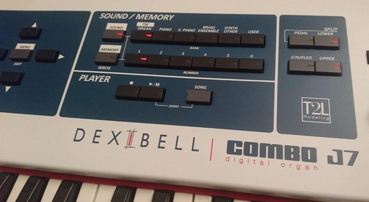 Dexibell Combo J7 Sound Memory Section 2