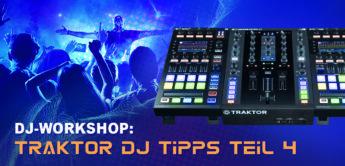 DJ Workshop: NI Traktor DJ Software – Effekte