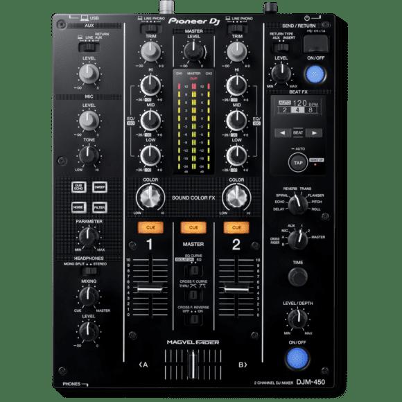 Pioneer DJM-450: Ein Blick drauf