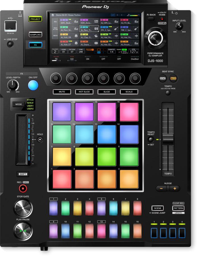 Pioneer DJS-1000, ein erster Blick