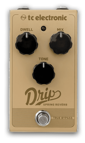 TC Electronic Sonic Specialists Drip Spring Reverb