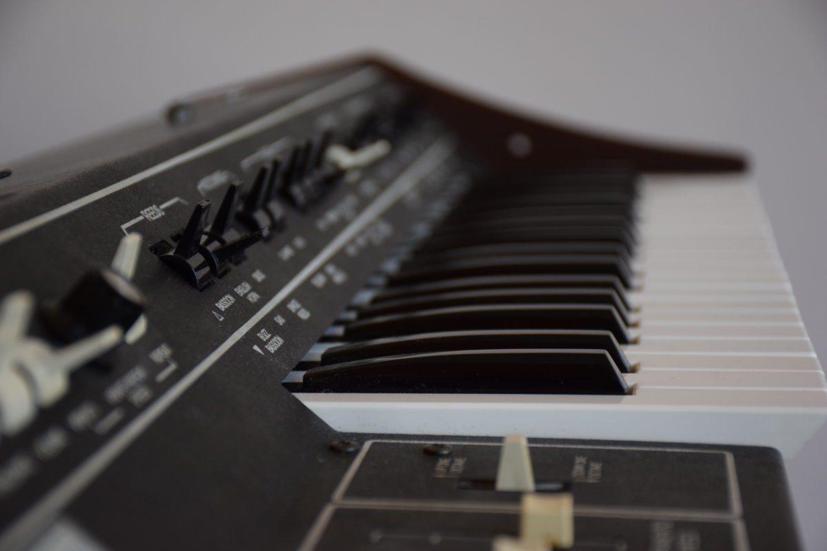 Ein besonderes Highlight des ARP Pro Soloist - die Tastatur verfügt über Aftertouch.