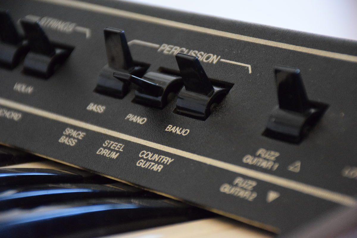 Man musste nur einen Schalter umlegen und der ARP Pro Soloist stellte einen neuen Sound zur Verfügung.