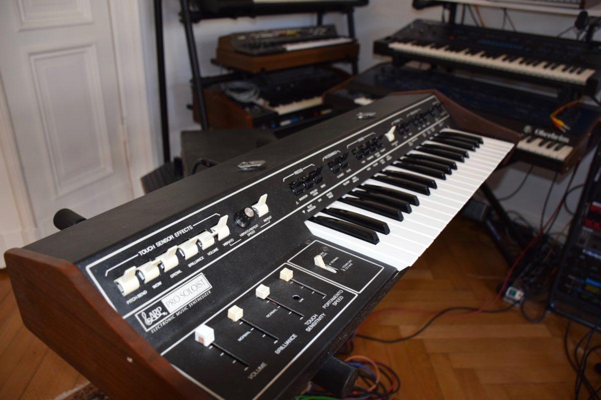 Ich spiele so einige Synthesizer - aber der ARP Pro Soloist ist mein Lieblingsinstrument.