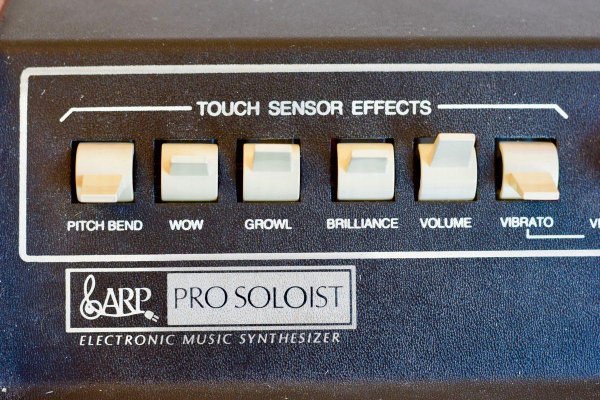 Der Aftertouch bringt den Klang des Synthesizers wirklich zum leben.