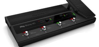 NAMM NEWS 2018: IK Multimedia iRig Stomp I/O, Effektgerät
