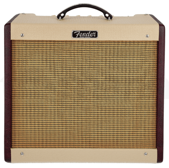 Fender Blues Junior III Bordeaux LTD front