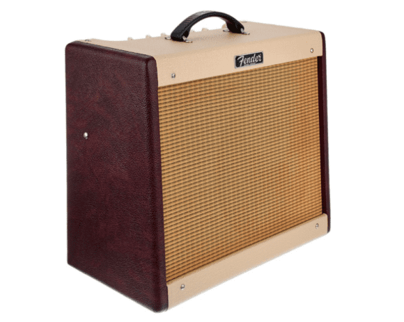 Fender-Blues-Junior-III-Bordeaux-LTD Seitenansicht