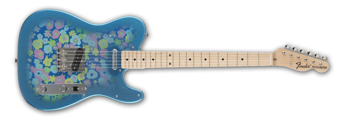 Die Geschichte von Fender Flower Telecaster