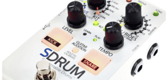 Test: Digitech SDRUM Strummable Drums for Guitar Player
