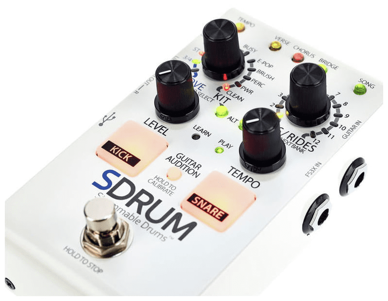 Test: Digitech SDRUM Strummable Drums for Guitar Player - Seite 2 ...