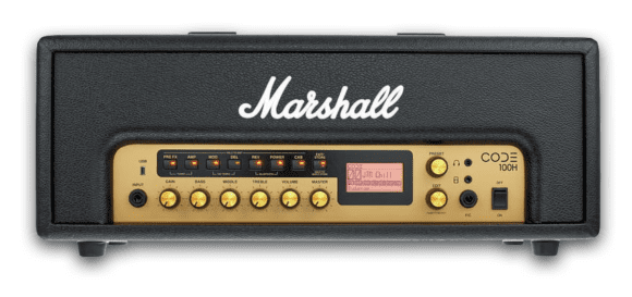 Marshall CODE 100 Head front