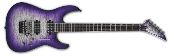 Jackson Pro SL2Q Soloist top