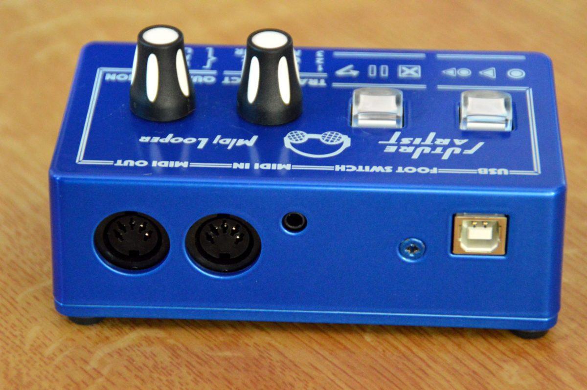 lieder noch kein Thru von MIDI zu USB