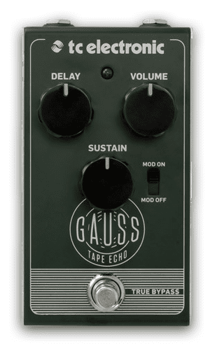 TC Electronic Sonic Specialists Gauss Tape Echo