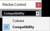 "Bei mir lief unter Cubase der Controller besser im ""Compatibility-Mode"""