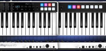 Top News: IK Multimedia iRig Keys I/O 25, 49, Controllerkeyboard plus Audiointerface