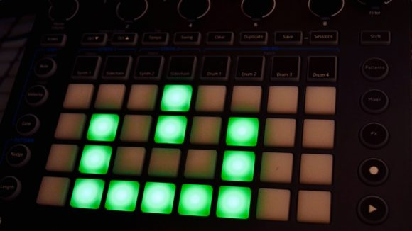 Novation Circuit update in progress