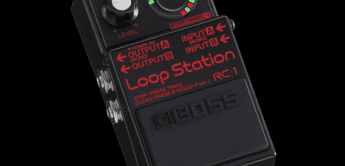 NAMM NEWS: BOSS RC-1 BK Limited Edition, Looper