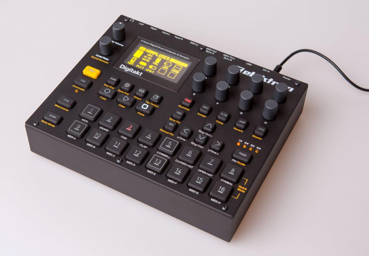elektron digitakt kaufberatung drumcomputer