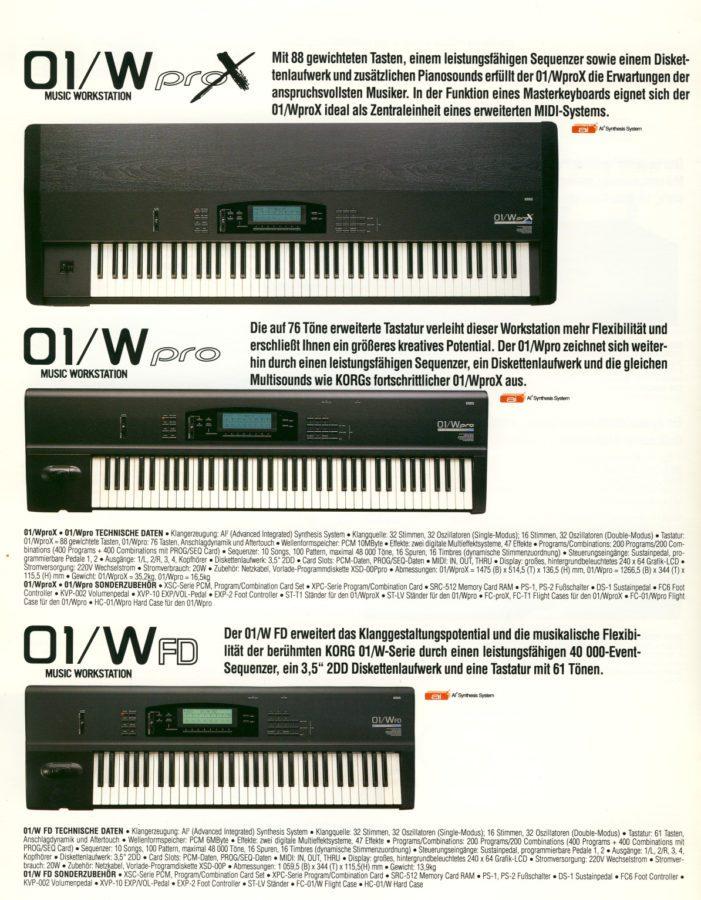 korg-01w-serie-katalogseite