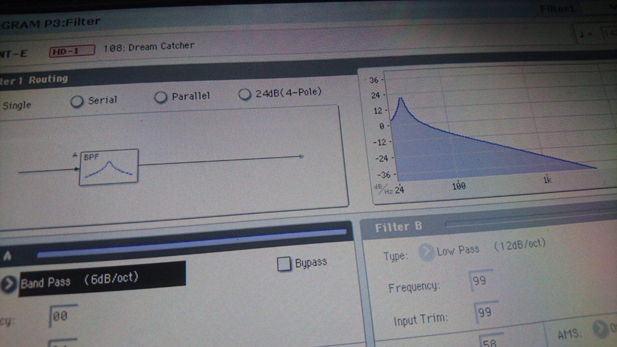korg-kronos-band-pass-filter