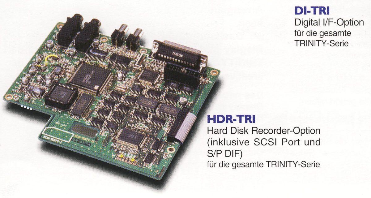 Korg Trinity HDRTRI Board Katalog